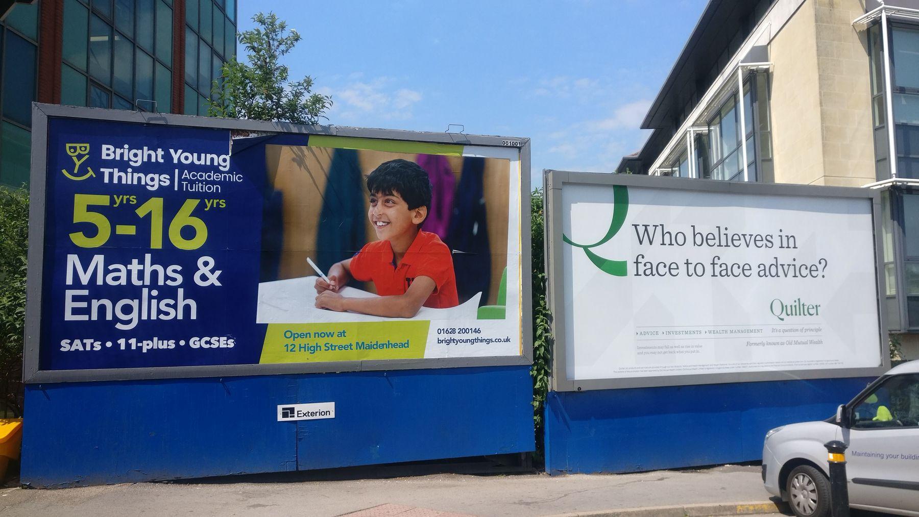 maidenhead tuition centre advert