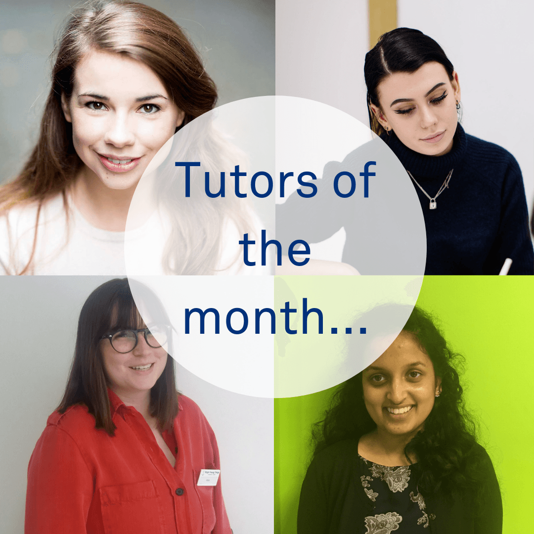 tutors of the month...