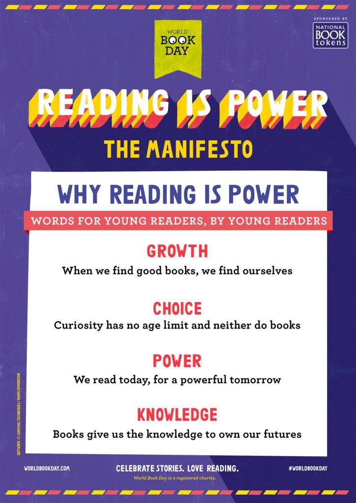 World Book Day Manifesto