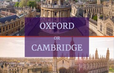 Oxford or Cambridge?